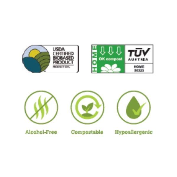 certificazione salviettine earth rated